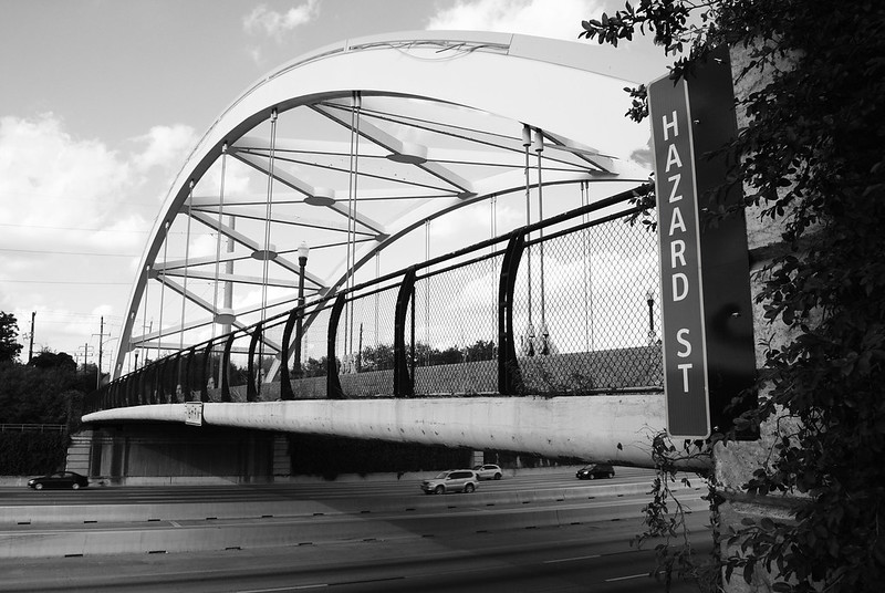 Hazard Street Through Arch Bridge over US 59, Houston, Texas 1211041654BW