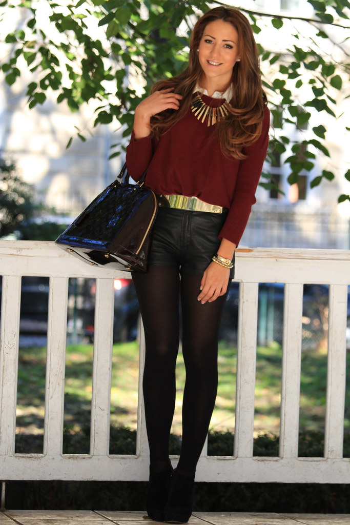 outfit look, belt, alma bag, louis vuitton, jumper,