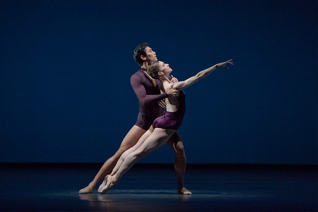 Marianela Nuñez and Ryoichi Hirano in Viscera. ©  Andrej Uspenski / ROH 2012