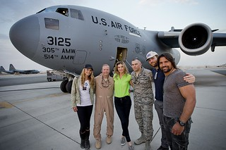 """Spartacus"" USO Middle East Tour"
