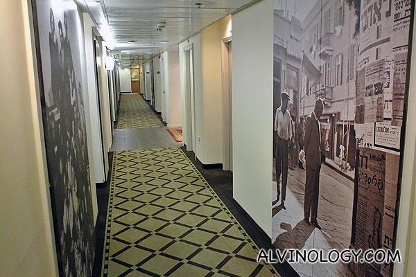 Corridor of Herods Hotel