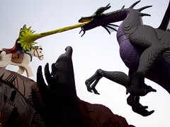 velociraptor(0.0), fictional character(1.0), dragon(1.0), cartoon(1.0), illustration(1.0),