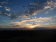 sunrise Kurrajong Heights NSW Australia