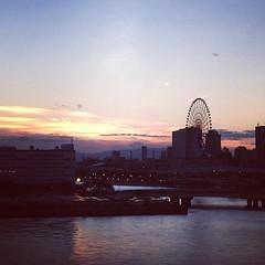 国際展示場からの眺め。あれ富士山?! #デザフェス