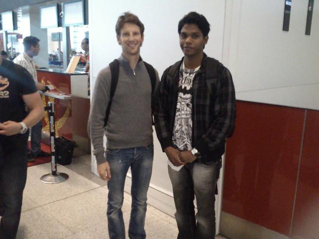 Me & Romain Grosjean
