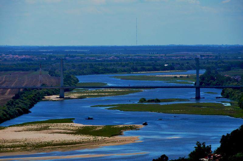 Rio Tejo desde Santarém