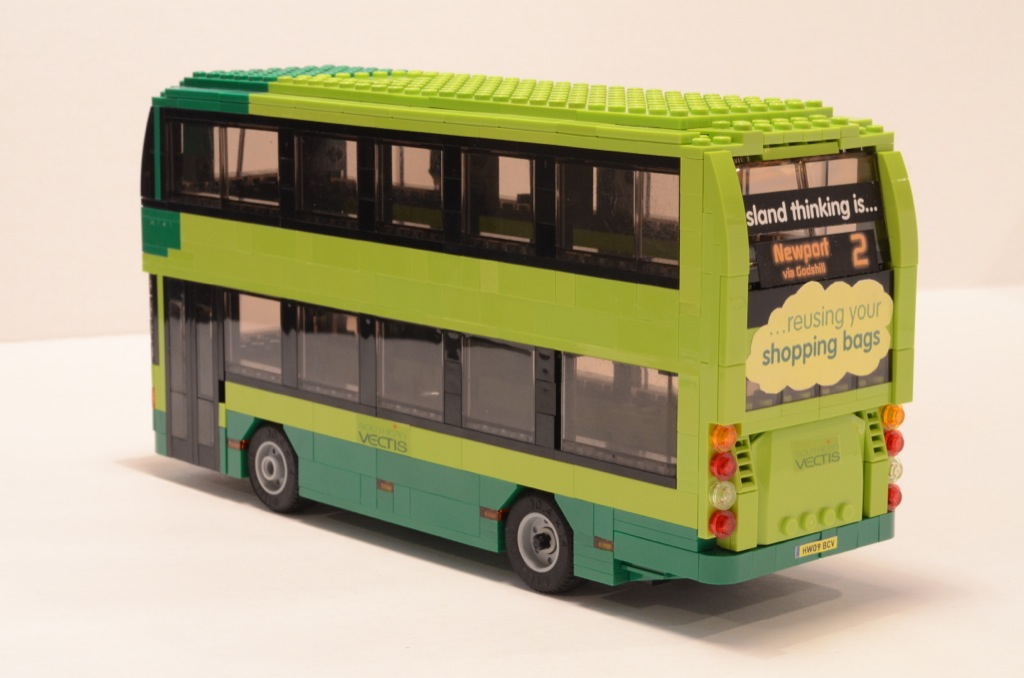 Southern Auto Group >> Lego Southern Vectis Bus Rear - a photo on Flickriver