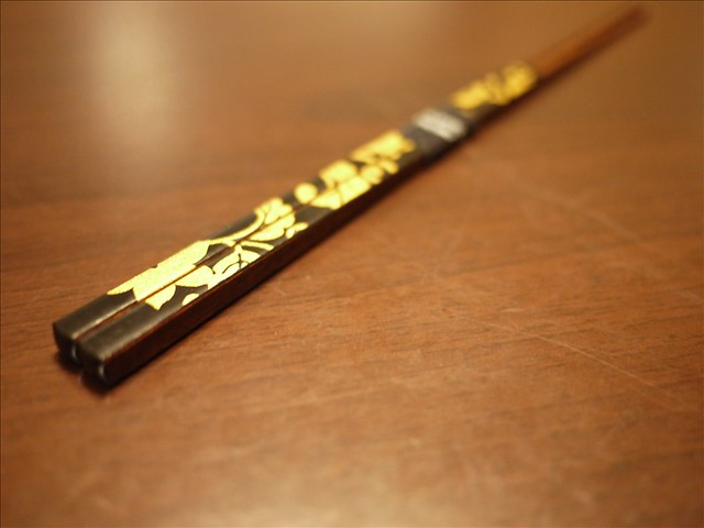 ポッキーの日に箸を新調