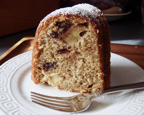 Apple Spice Cake with Medjool Dates