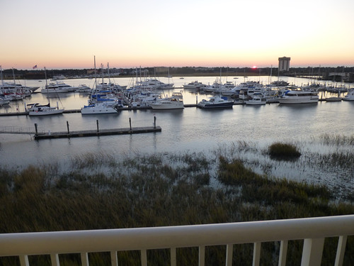 View from the Marriott Waterfront, Charleston, SC Nov 2012 by suzipaw