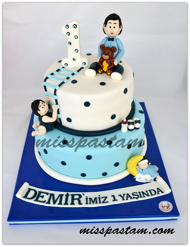 birthday cake - demir by MİSSPASTAM