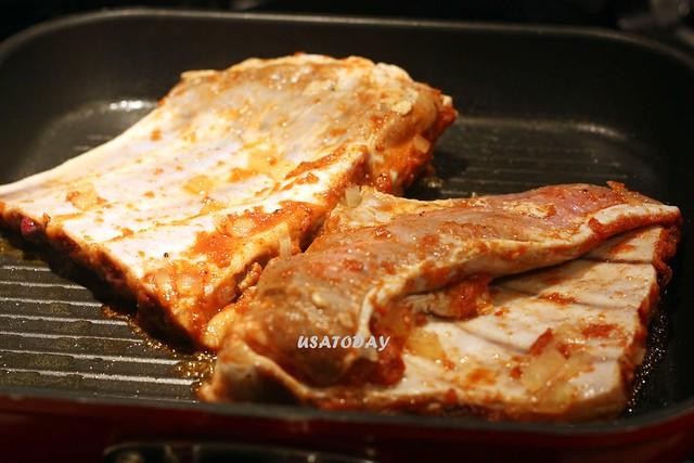 香烤豬肋排 Oven Grilled pork rib 8