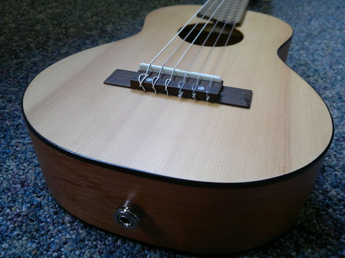 Yamaha Guitalele... with transducer pickup by tawalker