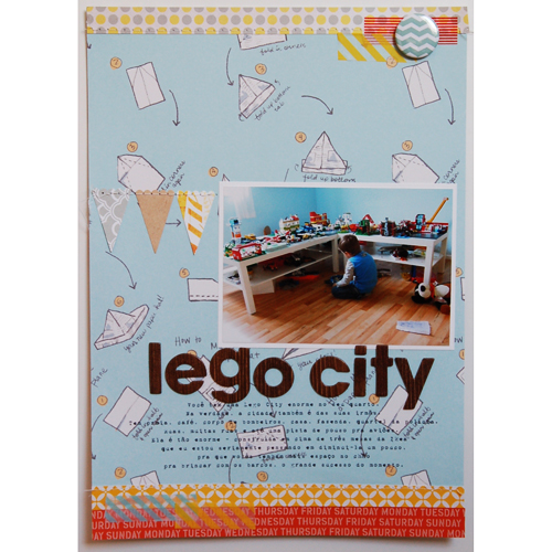 Lego city *Studio Calico October Kit*