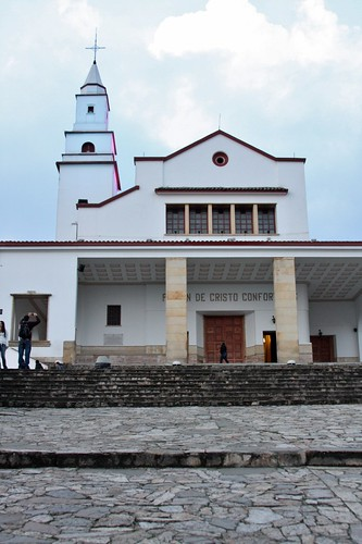 Cerro Monserrate church