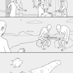 Traveling Man Unlettered Page 8