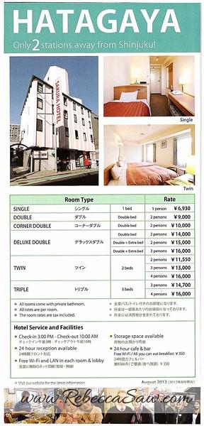 Daily Stay in Tokyo Sakura H-Hostel 4