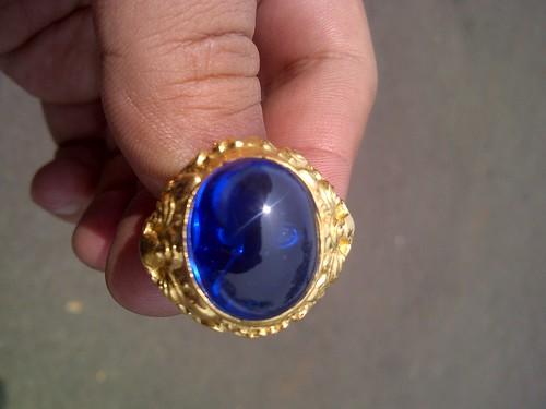 Koleksi Cincin Dan Batu Koleksi Pribadi Blue Safir