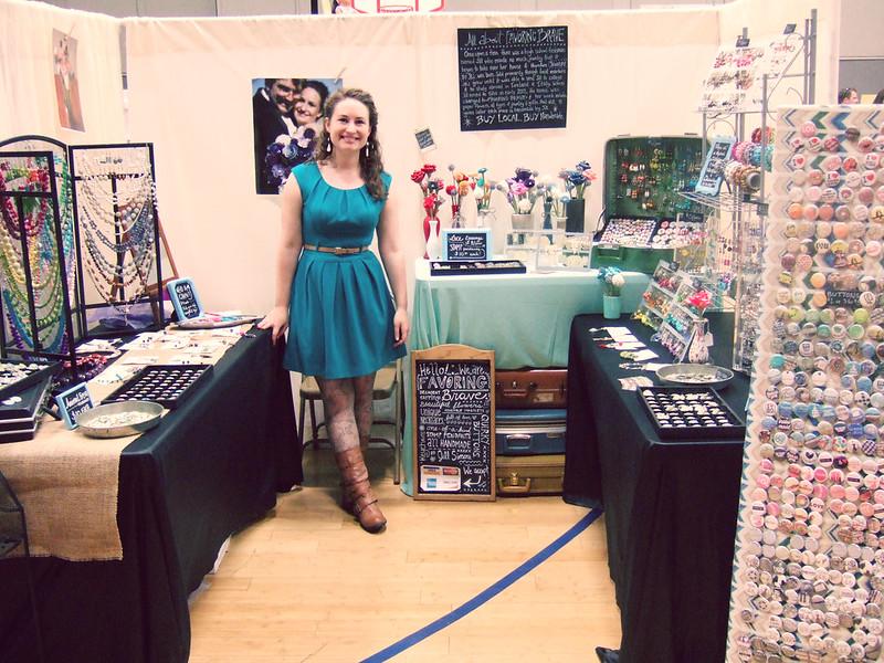 Favor the brave craft fair ology frame for mobile walls for Vendor craft shows near me