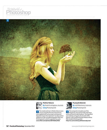 My Image Featured in Practical Photoshop Magazine December 2012 edition