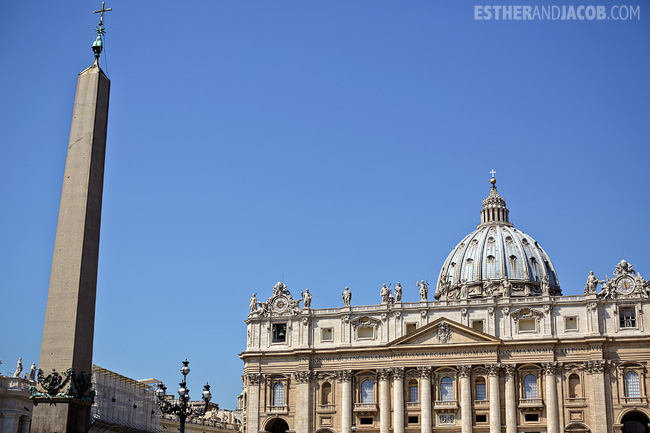 St Peter's Basilica Cathedral When in Rome Day 2 | What to do and see in Rome in 48 hours | Travel Photography