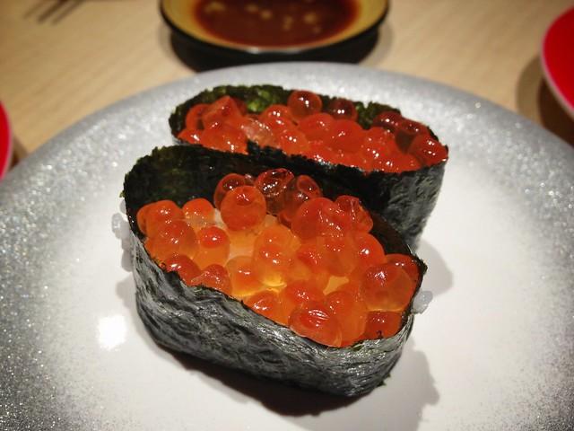 Ikura Gunkan Maki Sushi, Ryoshi Sushi Ikeikemaru