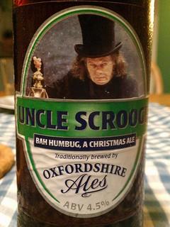 52 beers 5 - 12, Oxfordshire Ales, Uncle Scrooge, England