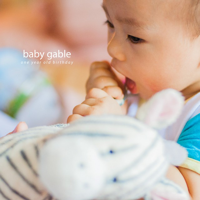 Baby Gable 1yo Birthday1