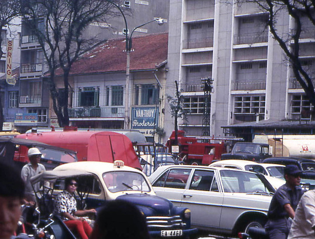 Saigon 1968 - Le Loi Avenue - Photo by John F. Cordova