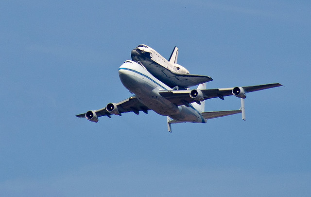 747 space shuttle papercraft - photo #15