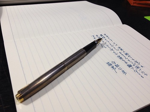 PARKER75 / Diamine Twilight