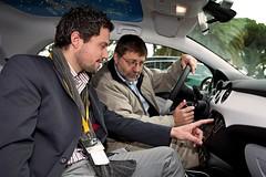 Jörg Hedrich beim Medien-Launch des Opel ADAM in Lissabon