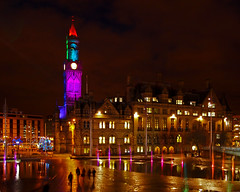 Bradford by night