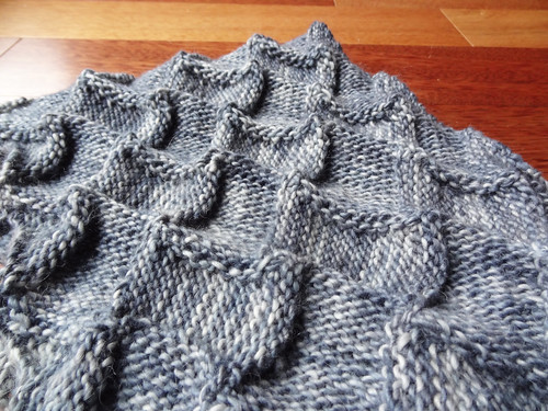Infinity Cowl in Grey 01