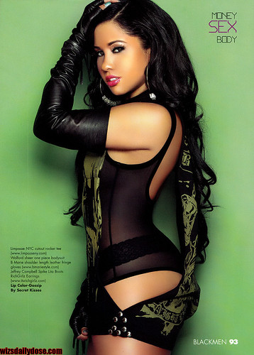 ANGELA YEE BLACKMEN MAGAZINE PHOTO SPREAD. sexy ass angela yee int the latest issue of black men magazine
