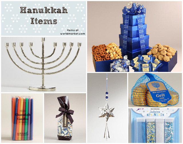 Hanukkah Gifts from World Market