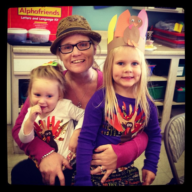 Feasting with my little turkeys!! #mayflowerpreschool #turkey #feast