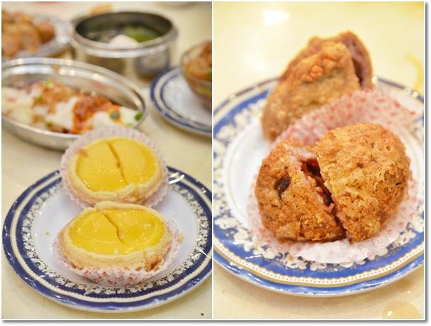 Egg Tarts & Yam Puffs