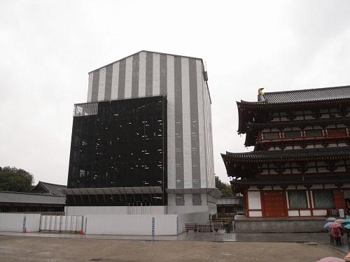 薬師寺東塔修理見学-02
