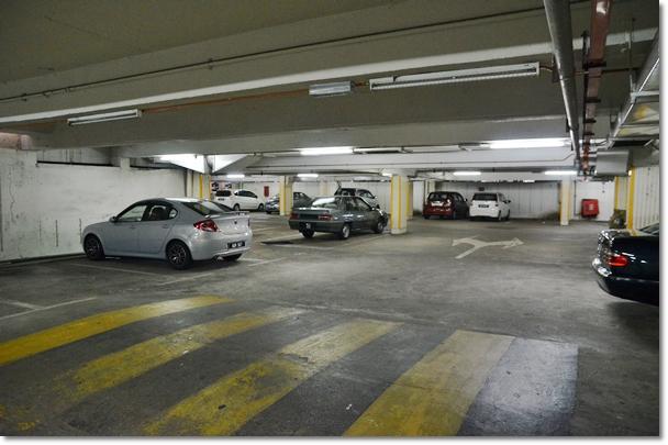 Dodgy Carpark @ Super Kinta