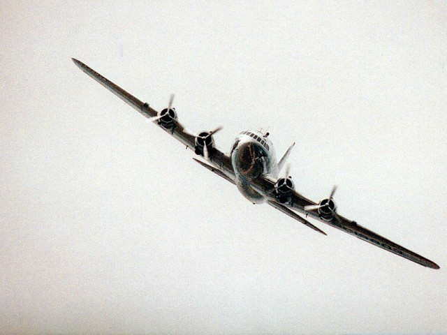 Boeing 307 Stratoliner in flight