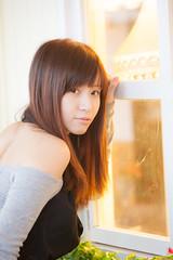 [フリー画像素材] 人物, 女性 - アジア, 女性 - 振り向く, 台湾人 ID:201211300800
