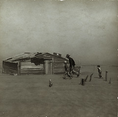 Image of Oklahoma's Dust Bowl days