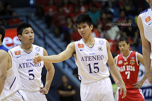 PCCL 2012 Final Four: Ateneo Blue Eagles vs. San Beda Red Lions, Nov. 25