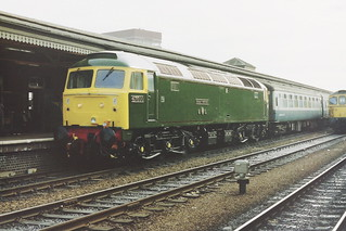 47500 as 'Great Western' at Reading April 1987