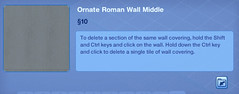 Ornate Roman Wall Middle