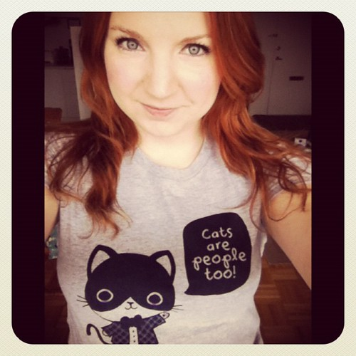 By far the best shirt ever from Em & Sprout! #emandsprout #catlady