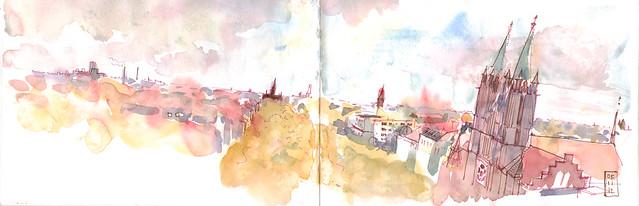 Kreuzberg: Where to sketch in Winter in Berlin