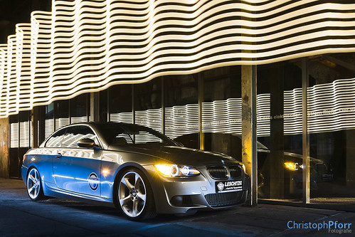 BMW Lightpainting 4