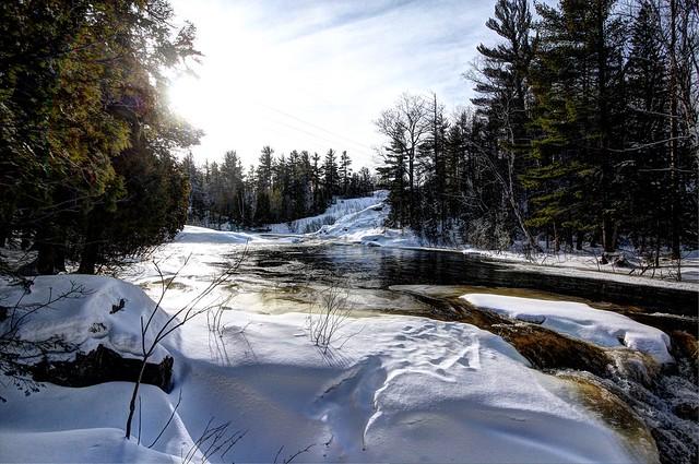 Upper Dead River, Marquette County, Michigan